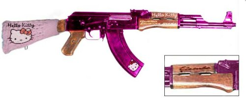 Hello Kitty AK 47