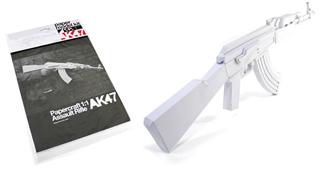 AK47 aus Papier