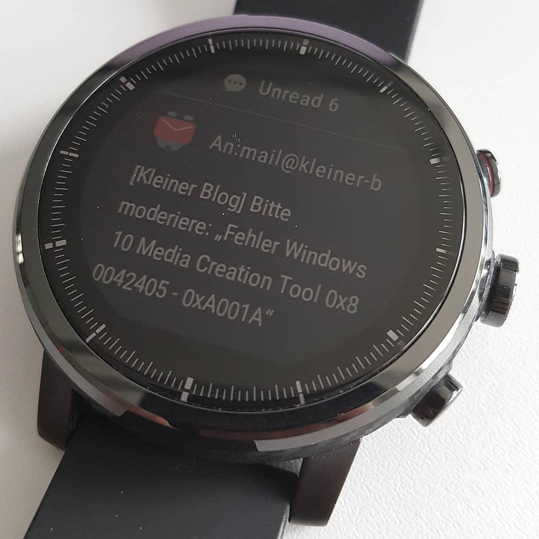Erfahrungsbericht Stratos 2 - Huami Amazfit Smartwatch