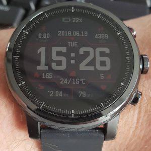 Stratos 2 - Huami Amazfit Smartwatch Watchface
