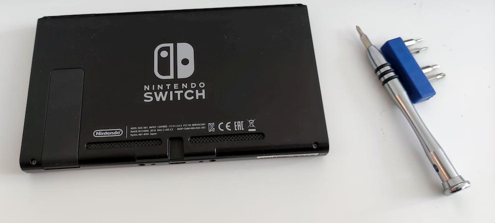 Nintendo Switch Lüfter tauschen